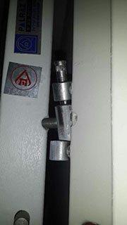 As long door latch