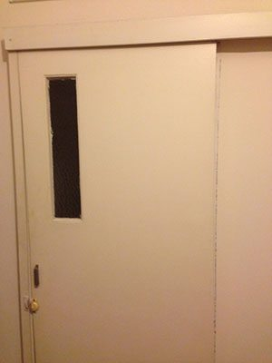 Repair sliding doors