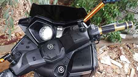 פורץ אופנועים ימאהה XMAN